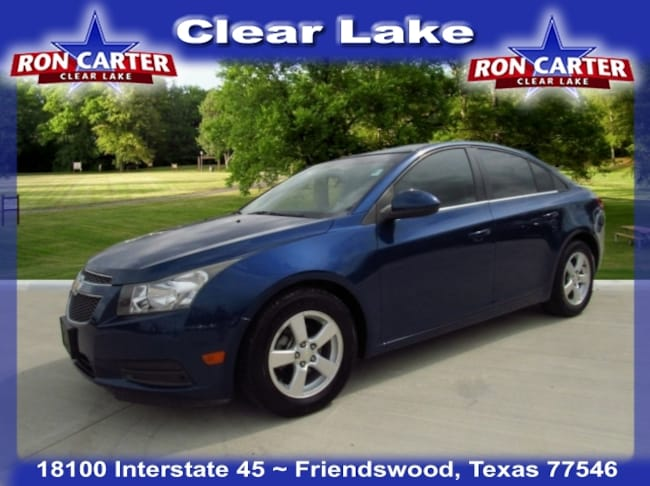 Used 2012 Chevrolet Cruze 1LT Sedan near Houston