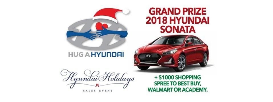 Captivating Hug A Hyundai Marathon