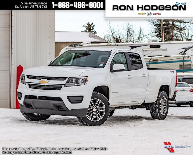 2019 Chevrolet Colorado 4WD Work Truck Crew Cab Pickup