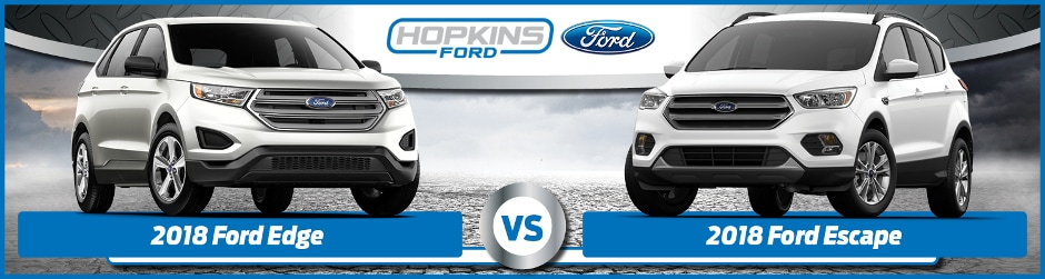 ford edge  ford escape whats  difference