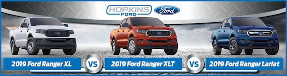 What Are The 2019 Ford Ranger Trim Differences Xl Vs Xlt Vs Lariat
