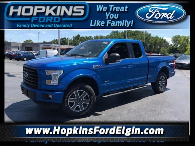 2015 Ford F-150 4WD Supercab 145 XLT Extended Cab Pickup