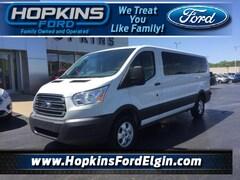 Used Vehicles for sale 2018 Ford Transit Passenger T-350 148 Low Roof XLT Sliding RH Full-size Passenger Van in Elgin, IL
