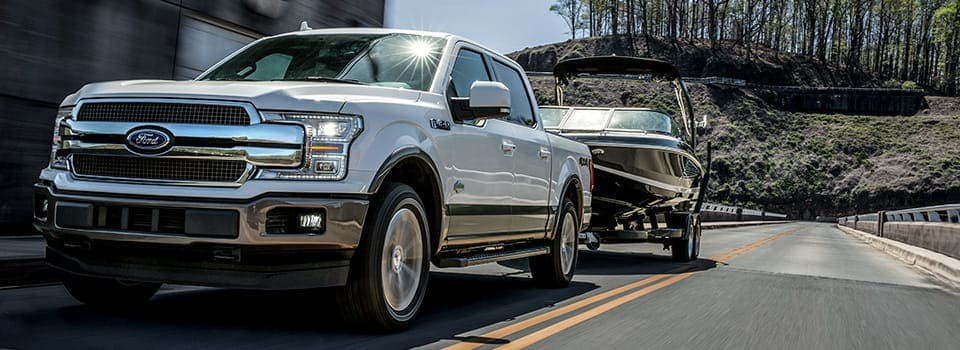 towing capacity    ford