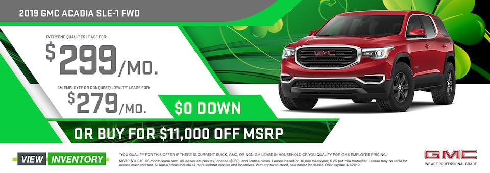 Lease: $299/mo