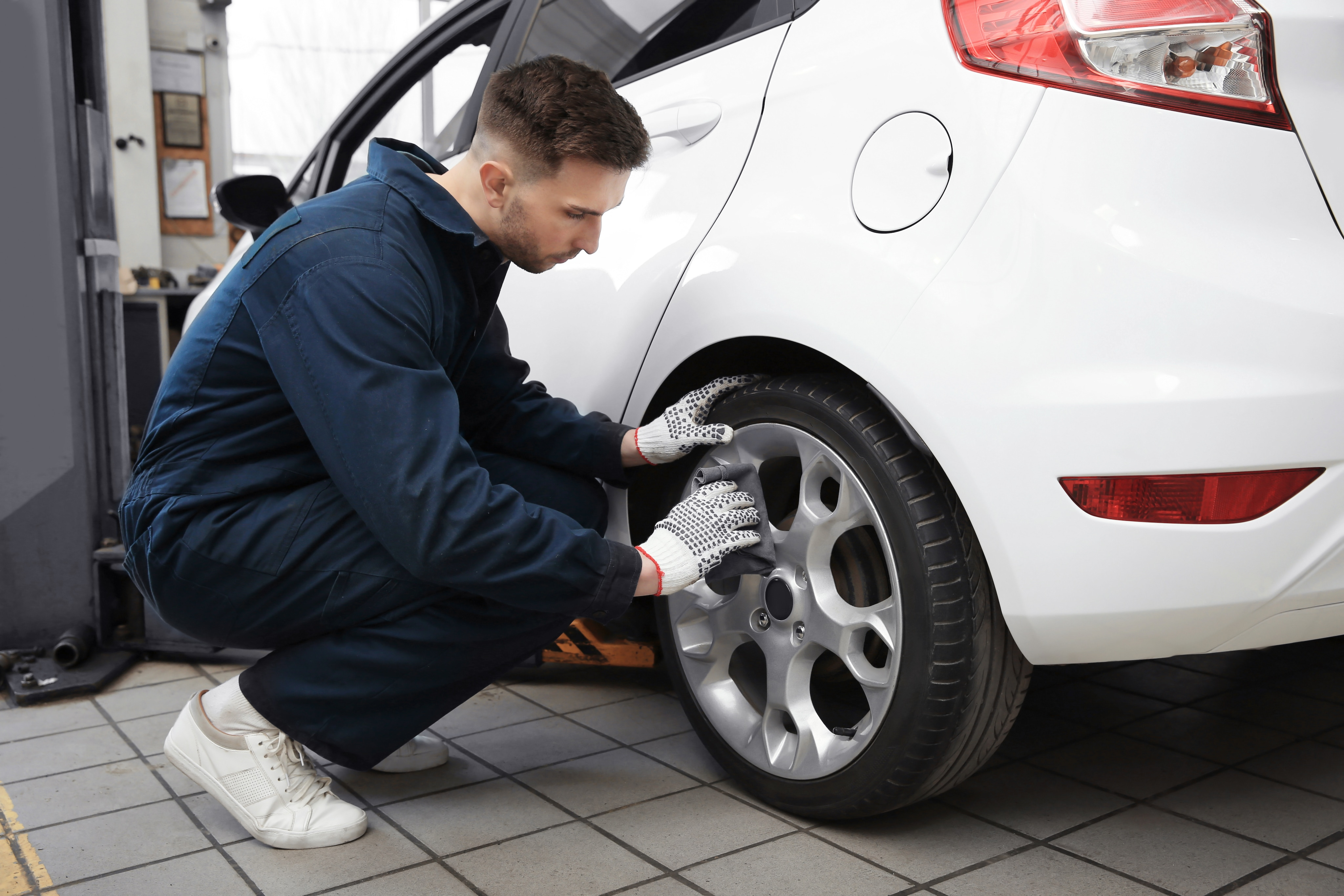 Tire replacement and alignment near me