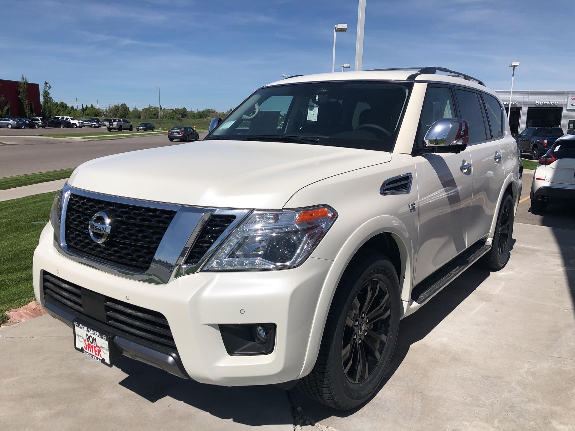 2019 Nissan Armada Platinum 4x4 SUV JN8AY2NE5K9757783
