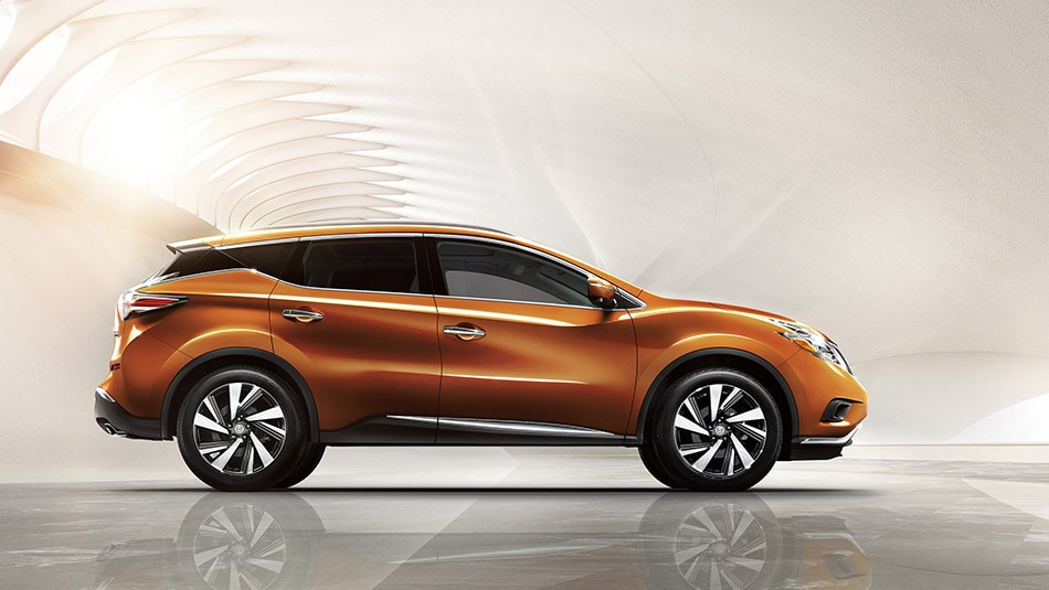 2015 Nissan Murano in Orange Metallic