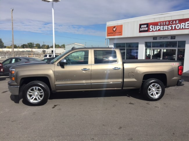 Used 2015 Chevrolet Silverado 1500 For Sale in Idaho Falls ID ...