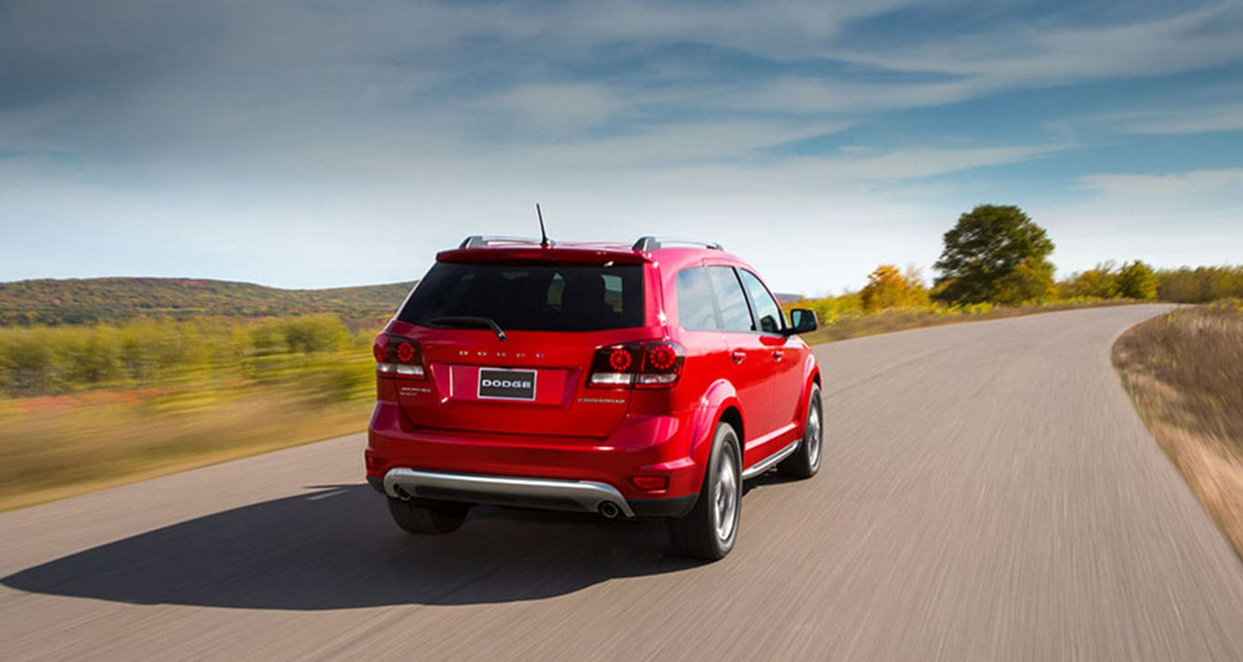 2016 Dodge Journey Rear