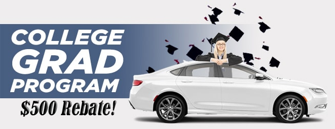 College Grad Program at Ron Sayers Chrysler Jeep Dodge