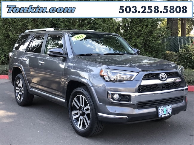 Used 2015 Toyota 4Runner For Sale at Tonkin Gladstone Hyundai | VIN