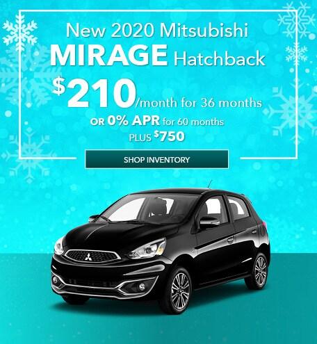 New 2020 Mitsubishi Mirage Hatchback