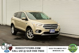 2017 Ford Escape SE / Accident Free / Backup Cam / Heated Seats FWD  SE