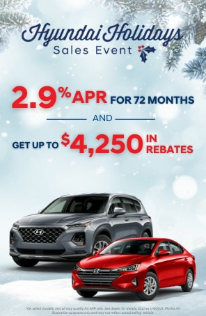 2.9 APR for 72 Months and Get up to $4,250 in Rebates