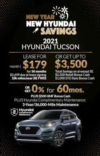 New Year, New Hyundai Savings