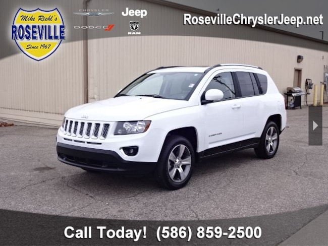 Used 2016 Jeep Compass Latitude FWD SUV Roseville