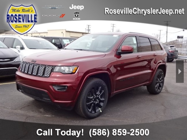 New 2019 Jeep Grand Cherokee ALTITUDE 4X4 Sport Utility Roseville