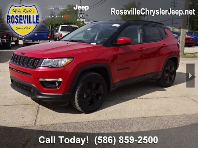 Used 2018 Jeep Compass Latitude 4x4 SUV Roseville