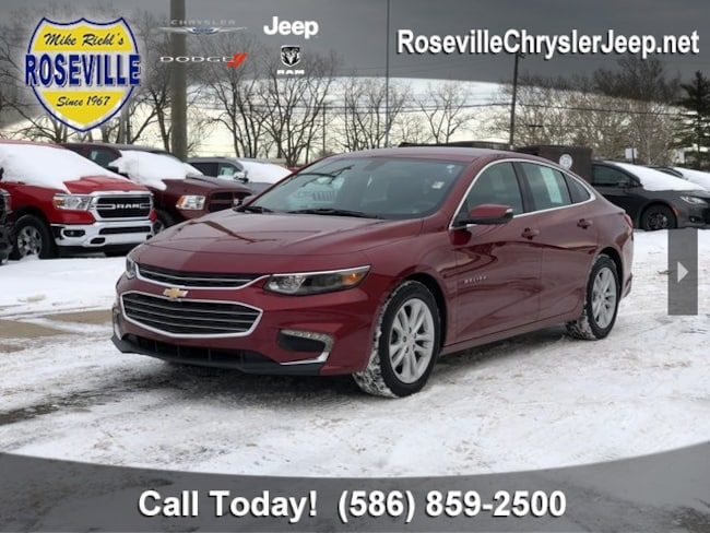 Used 2018 Chevrolet Malibu LT Sedan Roseville