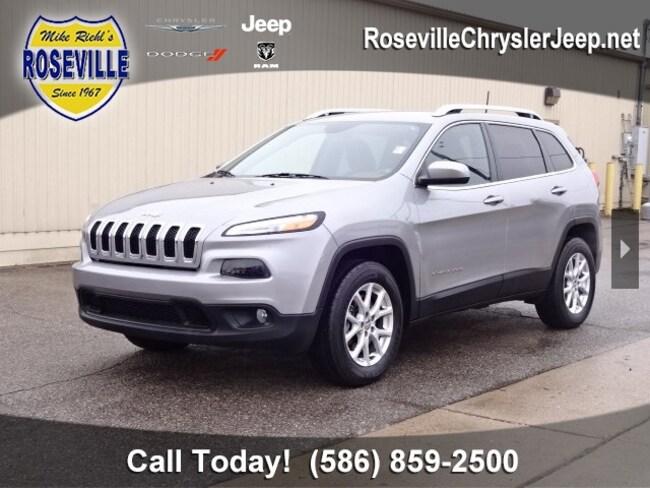 Used 2016 Jeep Cherokee Latitude 4x4 SUV Roseville