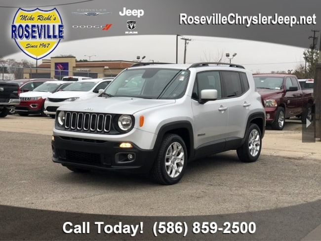 Used 2017 Jeep Renegade Latitude FWD SUV Roseville
