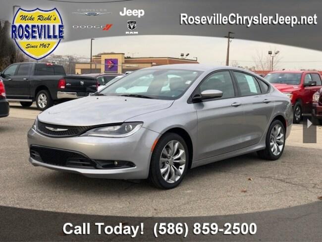 Used 2016 Chrysler 200 S Sedan Roseville