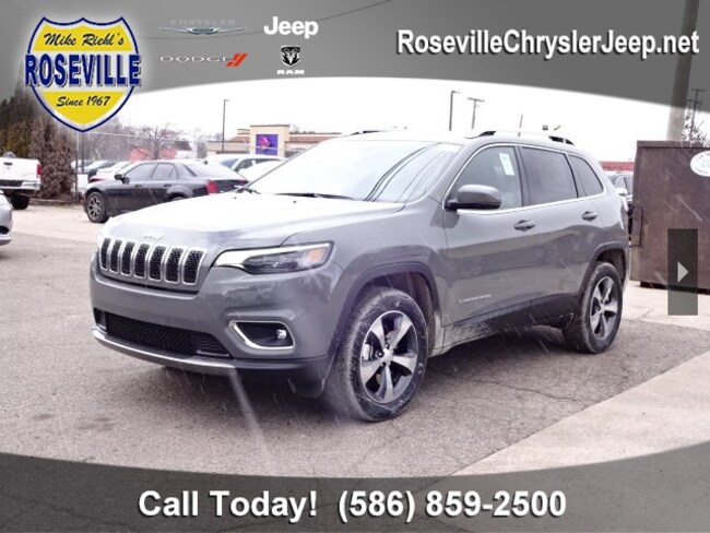 New 2019 Jeep Cherokee LIMITED 4X4 Sport Utility Roseville