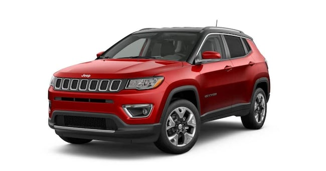 New 2019 Jeep Compass LIMITED 4X4 Sport Utility Roseville