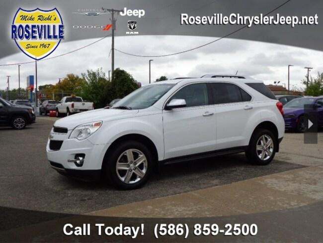 Used 2015 Chevrolet Equinox LTZ SUV Roseville
