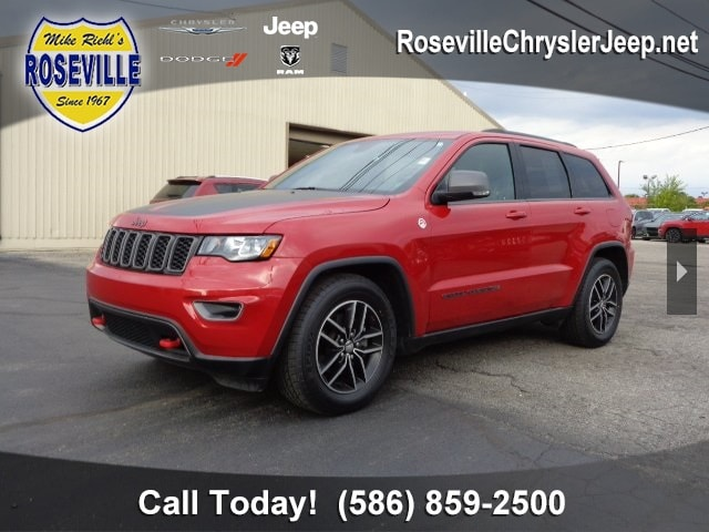 Used 2017 Jeep Grand Cherokee Trailhawk 4x4 For Sale Near Detroit