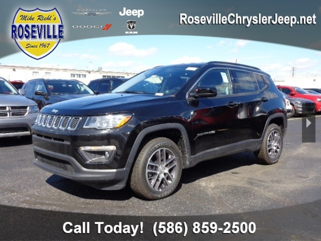 New 2018 Jeep Compass LATITUDE 4X4 Sport Utility Roseville