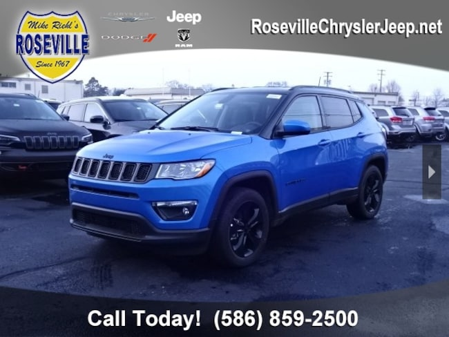 New 2018 Jeep Compass ALTITUDE FWD Sport Utility Roseville