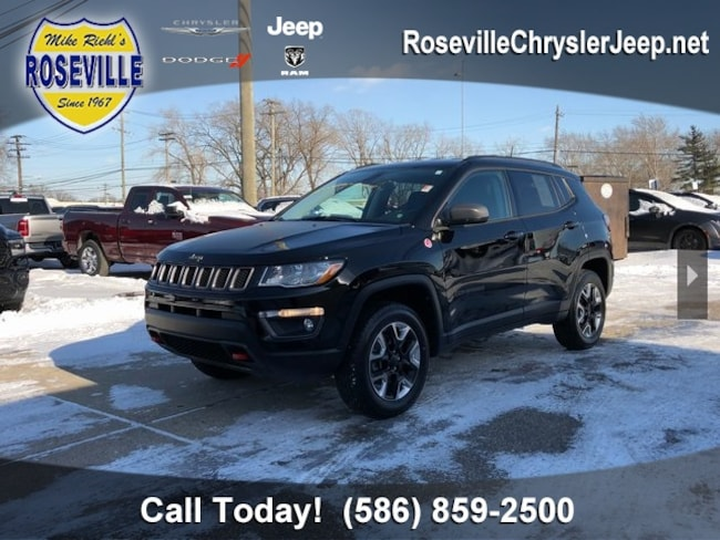 Used 2018 Jeep Compass Trailhawk 4x4 SUV Roseville