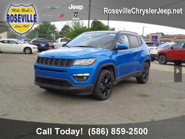 New 2018 Jeep Compass ALTITUDE 4X4 Sport Utility Roseville