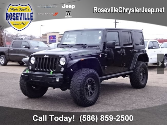 Used 2015 Jeep Wrangler Unlimited Rubicon 4x4 SUV Roseville
