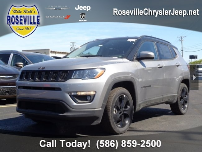 Used 2018 Jeep Compass Latitude 4x4 SUV Roseville