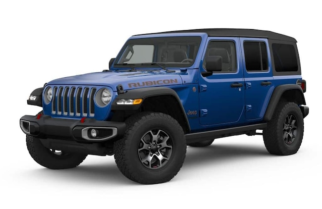 New 2019 Jeep Wrangler UNLIMITED RUBICON 4X4 Sport Utility Roseville