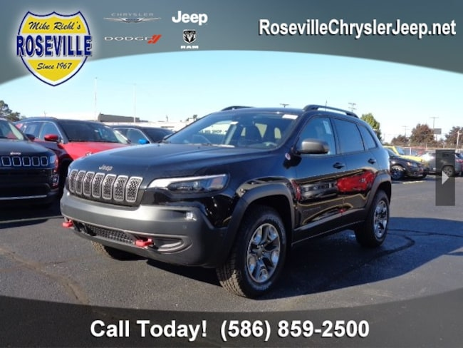 New 2019 Jeep Cherokee TRAILHAWK ELITE 4X4 Sport Utility Roseville