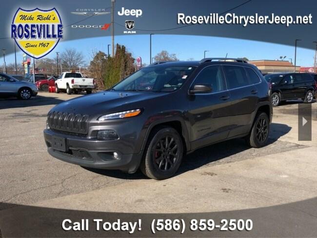 Used 2015 Jeep Cherokee Latitude FWD SUV Roseville
