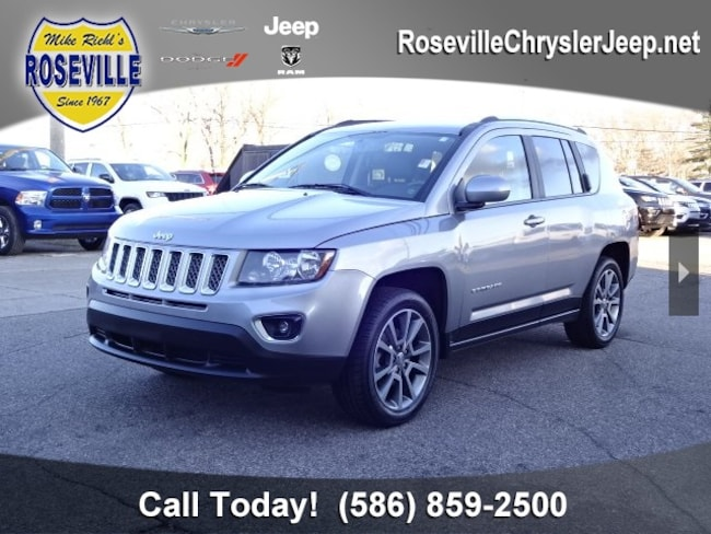 Used 2017 Jeep Compass Latitude FWD SUV Roseville