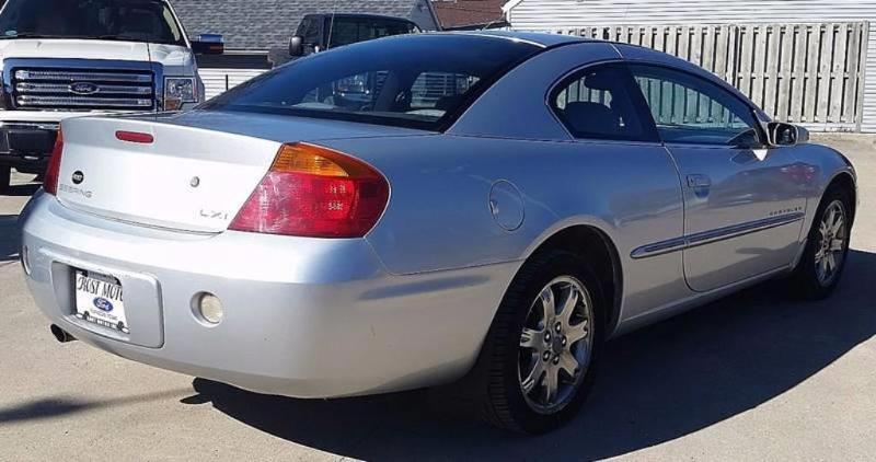 Used 2001 Chrysler Sebring For Sale at Rost Motor Inc  | VIN