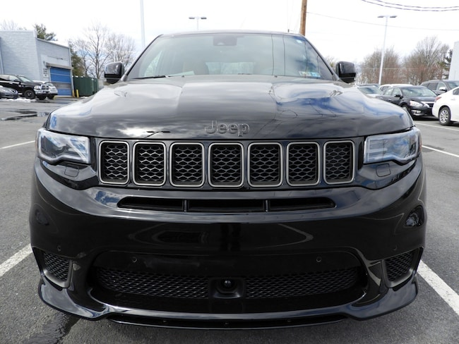 Jeep Grand Cherokee Trackhawk For Sale >> New 2018 Jeep Grand Cherokee TRACKHAWK 4X4 For Sale