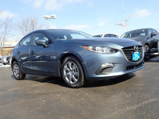 Used vehicles 2016 Mazda Mazda3 i Sport i Sport  Sedan 6A for sale near you in Arlington Heights, IL