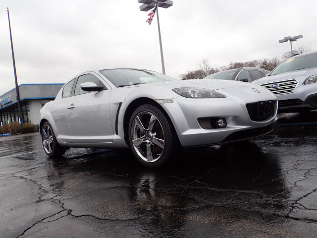 Featured pre-owned cars, trucks, and SUVs 2004 Mazda RX-8 GT Coupe for sale near you in Arlington Heights, IL