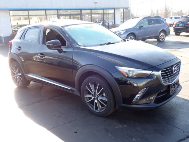 Certified pre-owned Mazda vehicle 2017 Mazda CX-3 Grand Touring AWD Grand Touring  Crossover for sale near you in Arlington Heights, IL