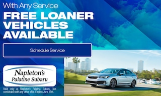 Free Loaner Vehicles Available With any Service