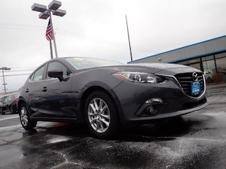 Certified pre-owned Mazda vehicles 2016 Mazda Mazda3 i Touring i Touring  Hatchback 6A for sale near you in Arlington Heights, IL