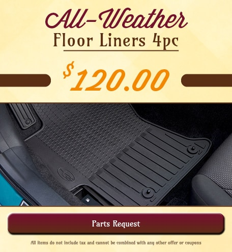 All-Weather Floor Liners 4pc Special
