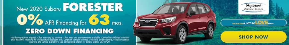 August 2020 Forester Special